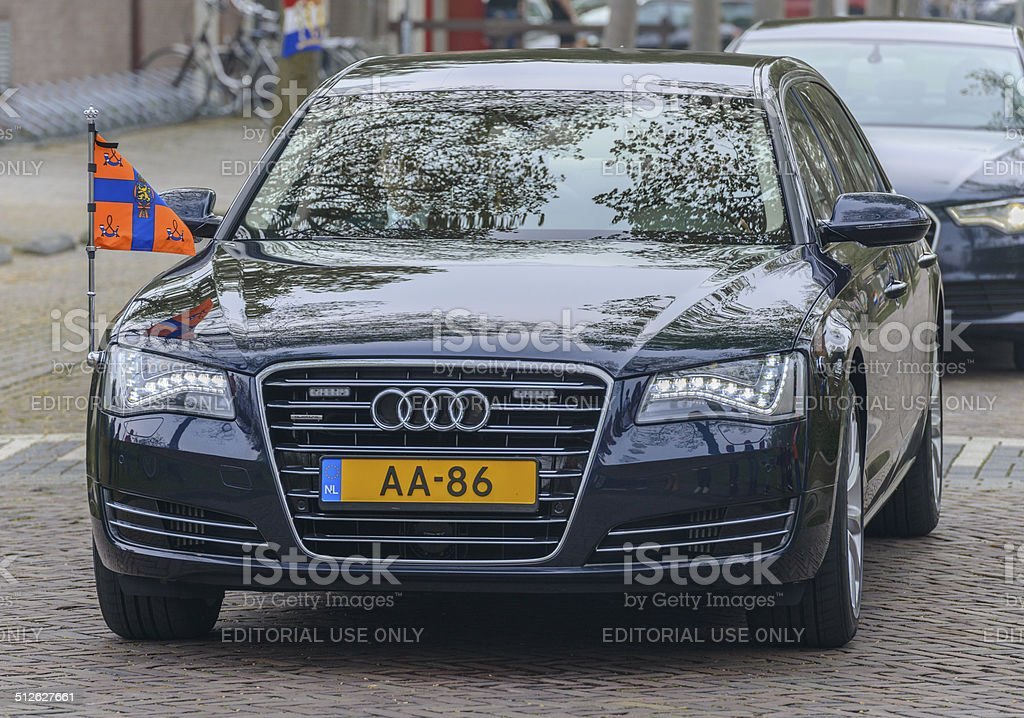 Official Dutch state car stock photo