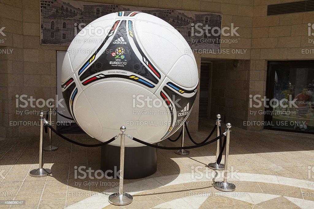 UEFA EURO 2012 official football model stock photo