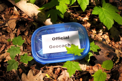 Official Geocache Stock Photo - Download Image Now