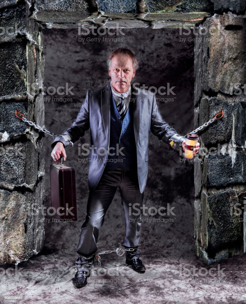 Official imprisonment stock photo