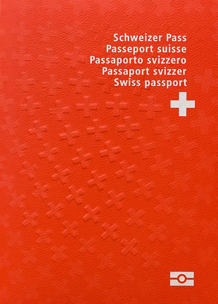 Offizielle passport der Schweiz – Foto