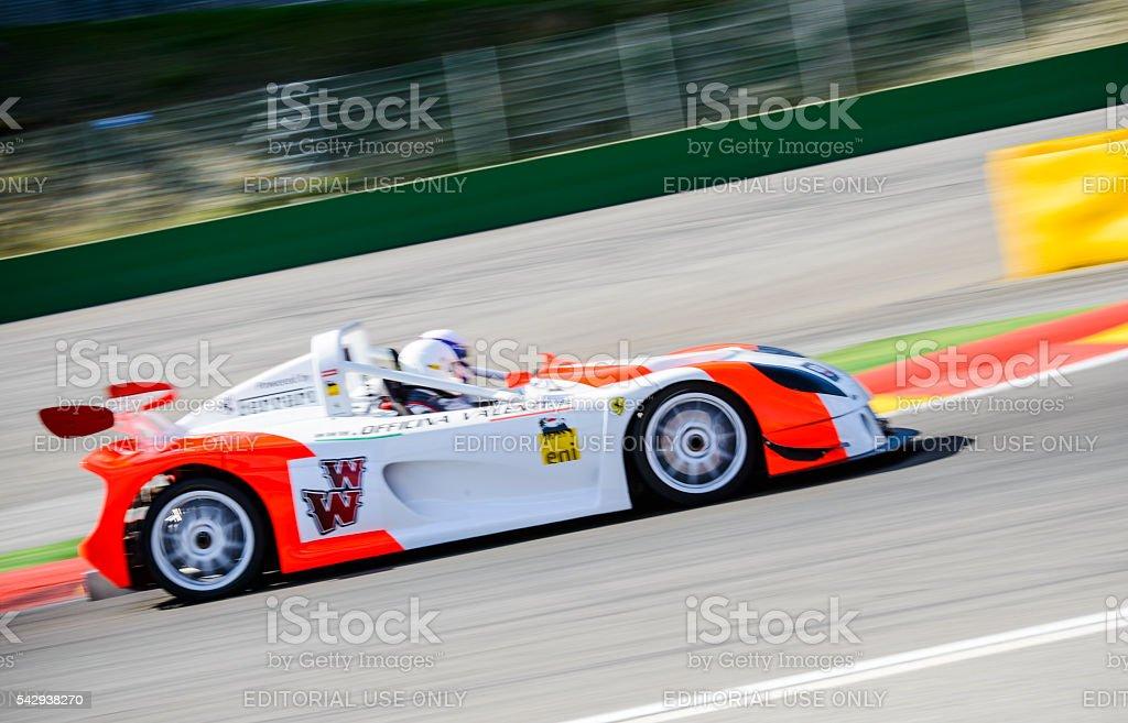 Officina Valenti - Proto Mr400 Powered By Ferrari V8 race car. The...