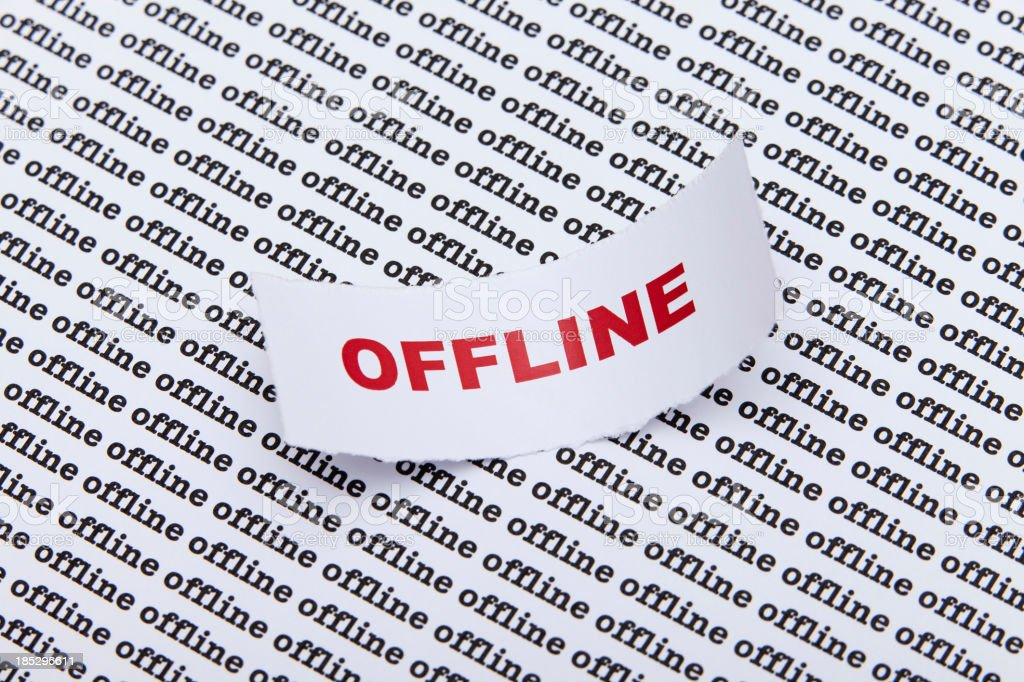 Offline royalty-free stock photo