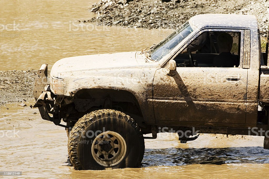 Offroad 4x4 royalty-free stock photo