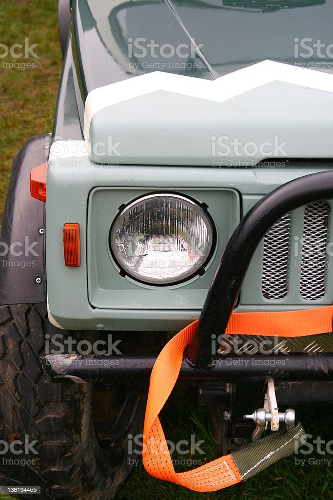 Offroad 4x4 SUV stock photo