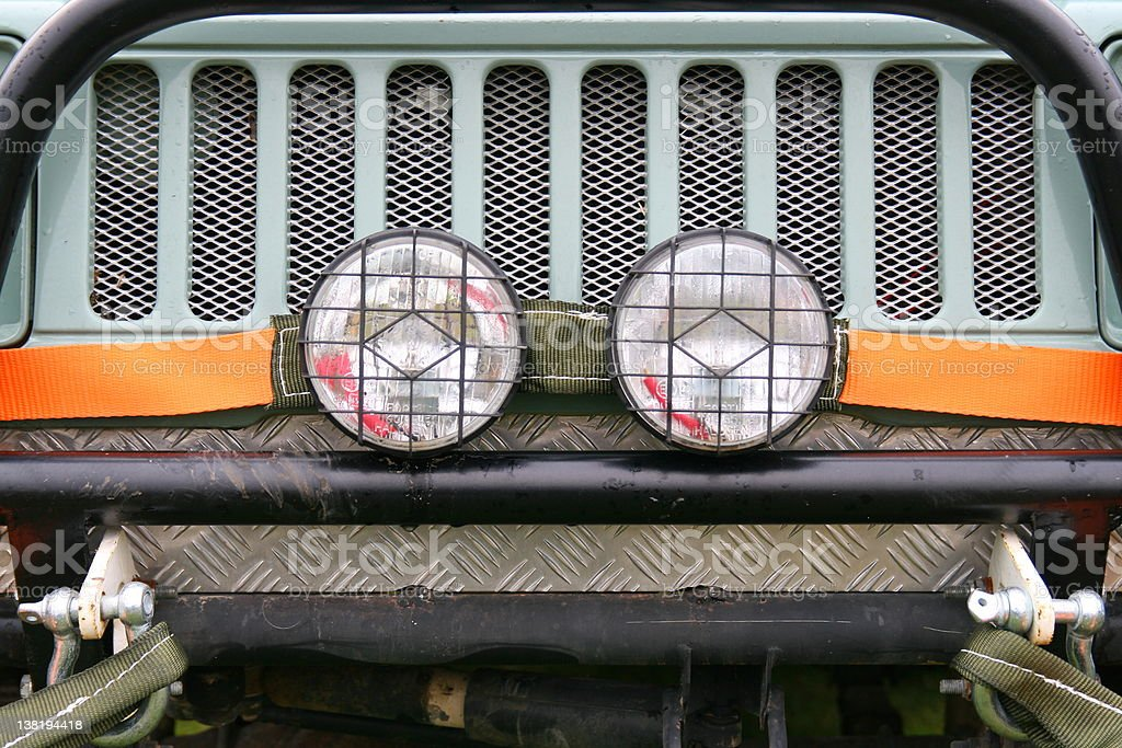 Offroad 4x4 Vehicle stock photo