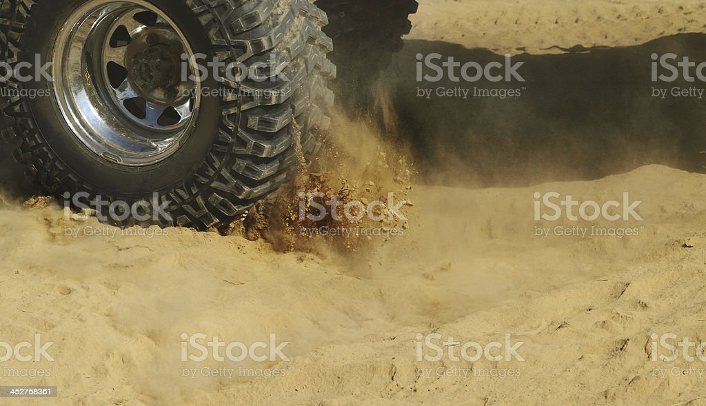 Off-road car royalty-free stock photo