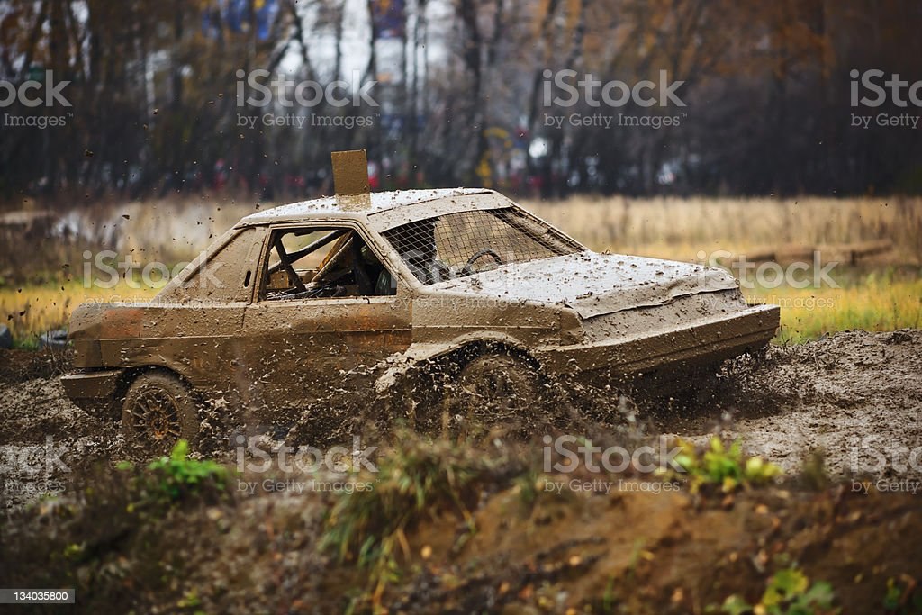 Off-road race car royalty-free stock photo