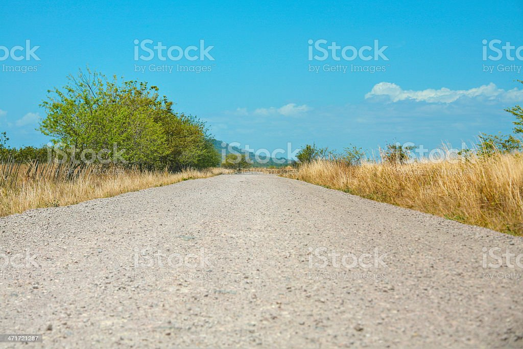 Off-road track royalty-free stock photo