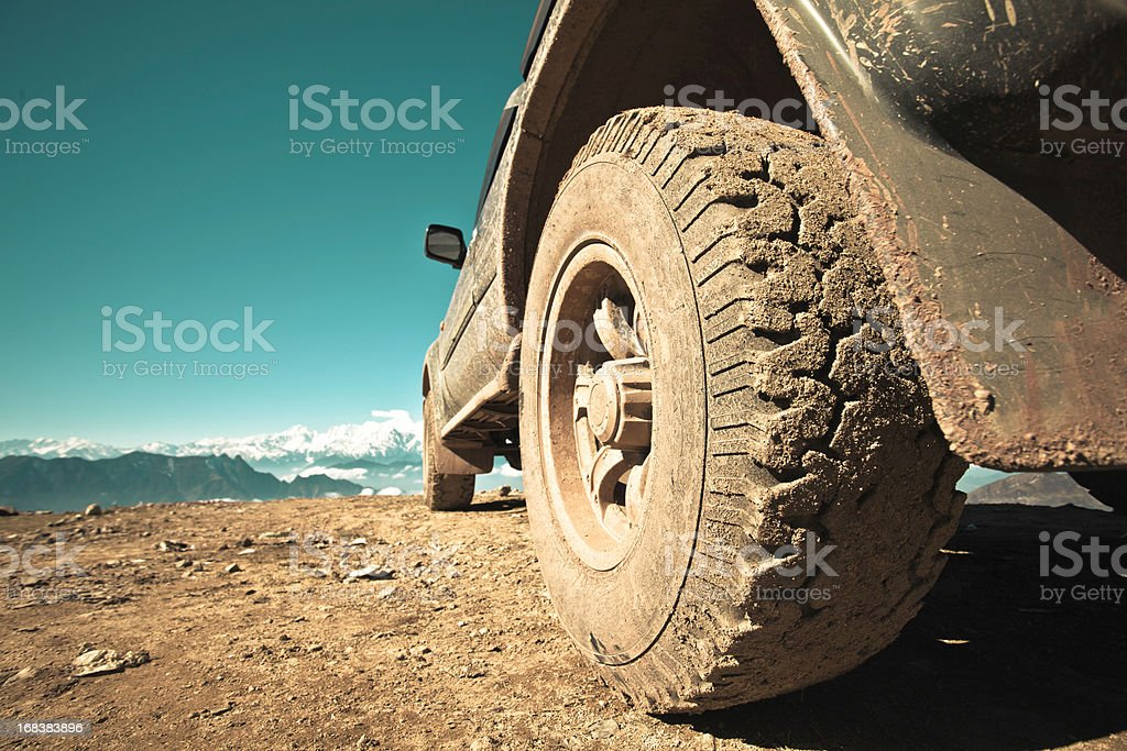 off-road vehicle stock photo