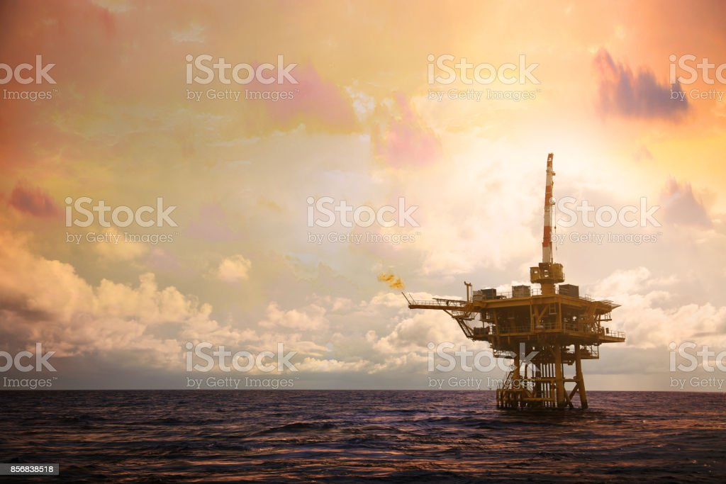 Offshore Construction Platform For Production Oil And Gas ...