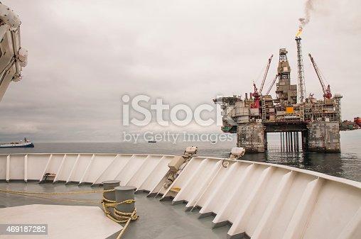 587773316 istock photo Offshore Platform and vessel 469187282