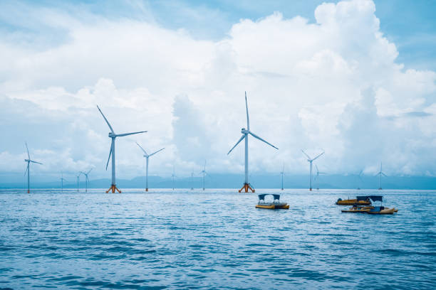 offshore wind farm – Foto