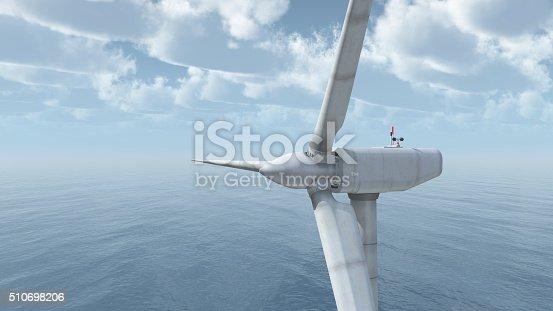 istock Offshore wind power 510698206