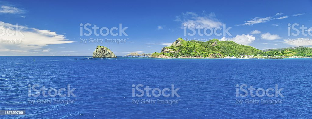 Ogasawara Islands Panoramic View - Tokyo (Japan) royalty-free stock photo