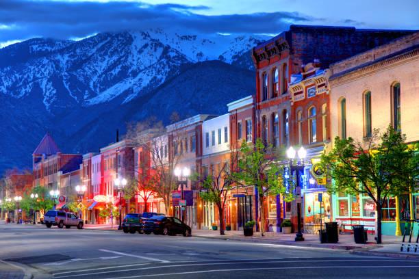 Ogden, Utah stock photo