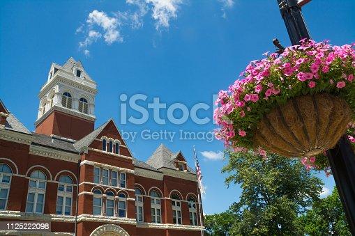 Historic Ogle County courthouse.  Oregon, Illinois, USA