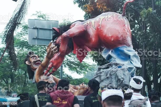 Ogoh-Ogoh Parade in Cinere Regency