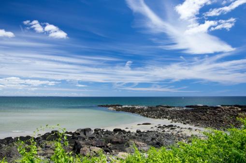Ogunquit Beach Stock Photo - Download Image Now