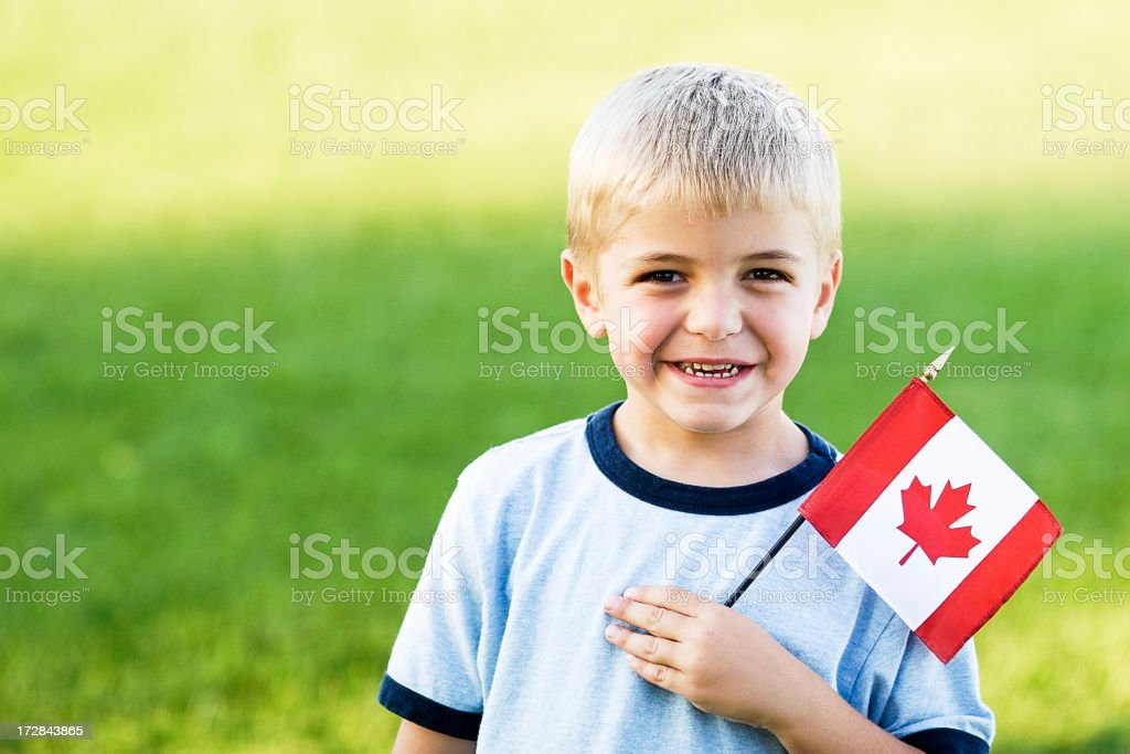 Oh Canada royalty-free stock photo