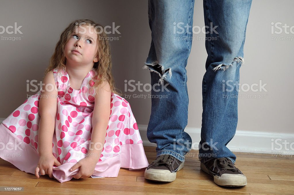Oh Daddy... royalty-free stock photo