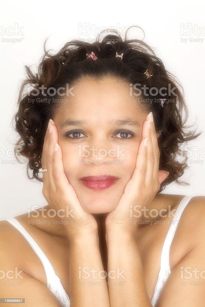 Sexy ebony models