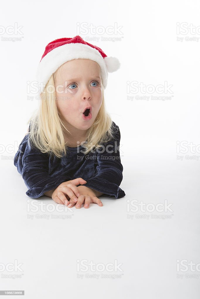 Oh My Christmas Surprise! royalty-free stock photo