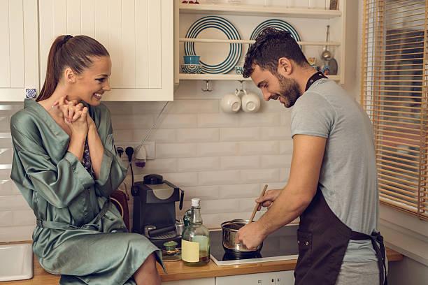 Ach mein Gott Baby, Sie kochen für mich! – Foto