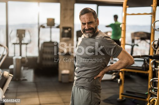 istock Oh my God, I am experiencing terrible pain in my back! 905453422