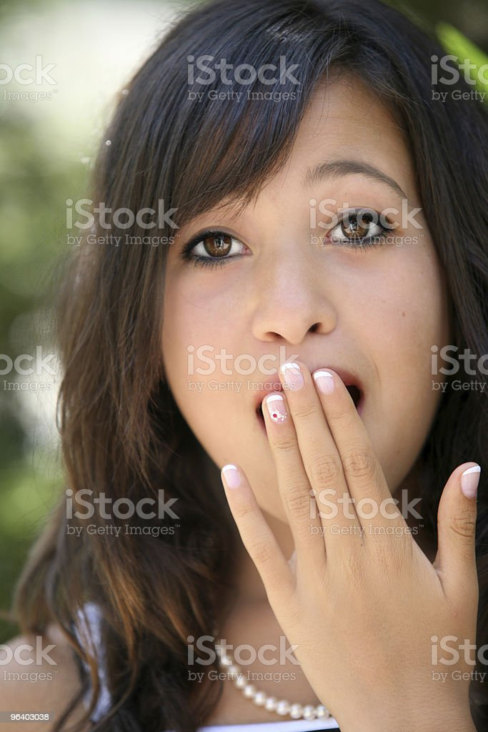 Oh my god! - Royalty-free Adolescence Stock Photo