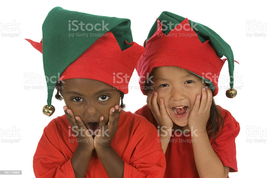 Oh my goodness elves! royalty-free stock photo