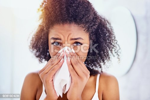 istock Oh no, could it be flu? 928192428