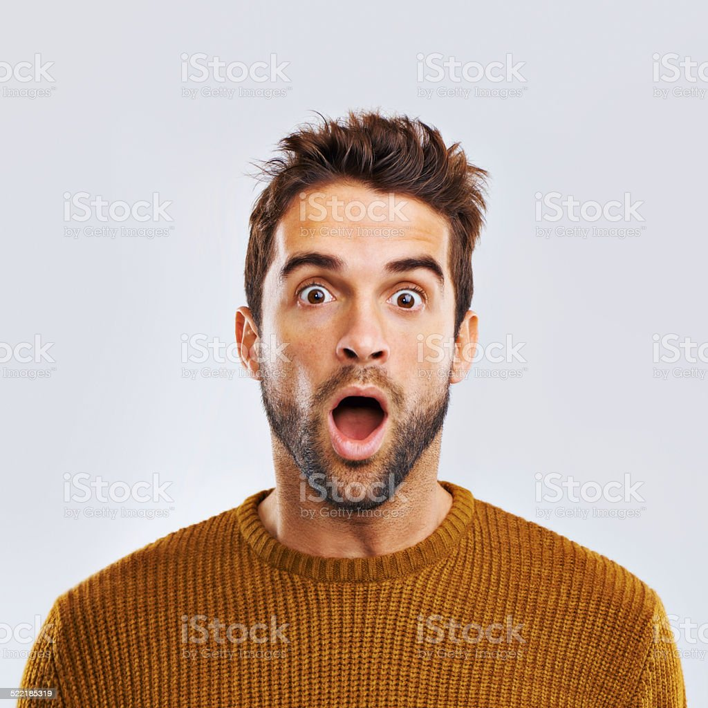 Oh no!!! stock photo