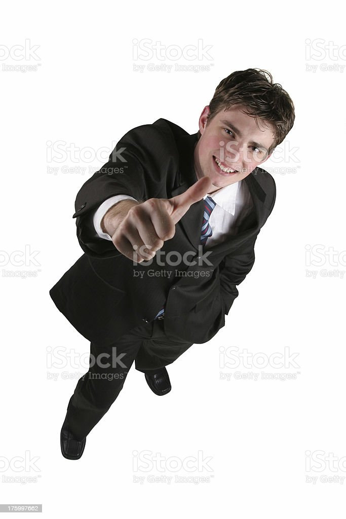 Oh yea...thumbs up baby royalty-free stock photo