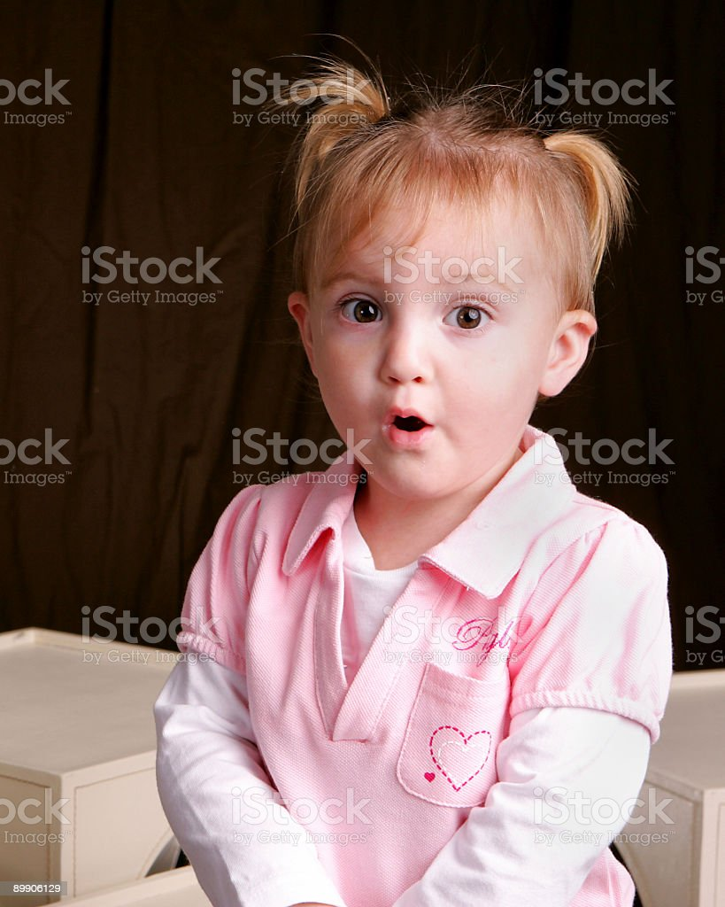 Ohhh face royalty-free stock photo