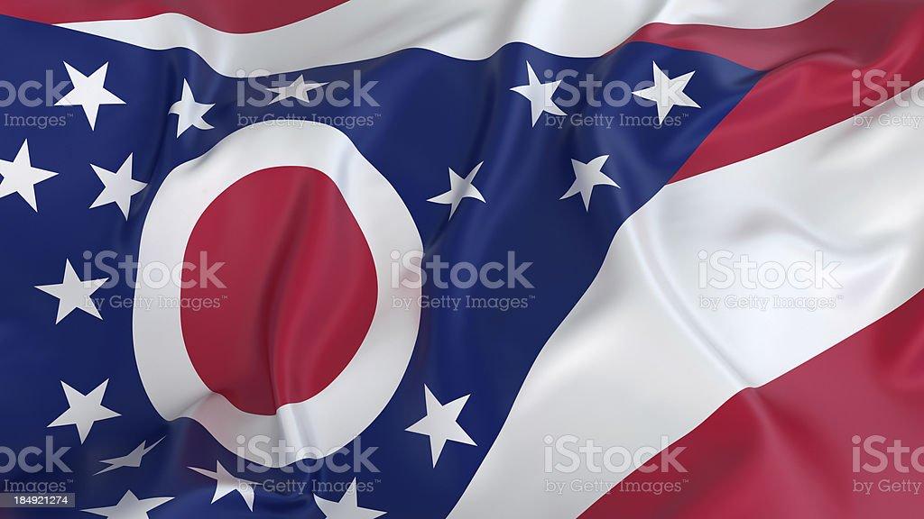 Ohio flag stock photo