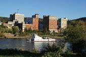 istock Ohio River Tug Boat, Wheeling, West Virginia 172208695