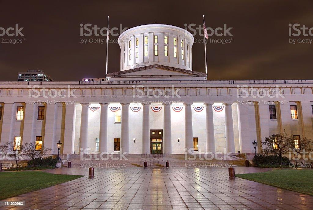 Ohio Statehouse royalty-free stock photo