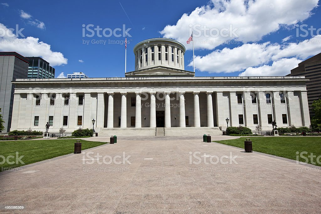 Ohio Statehouse stock photo