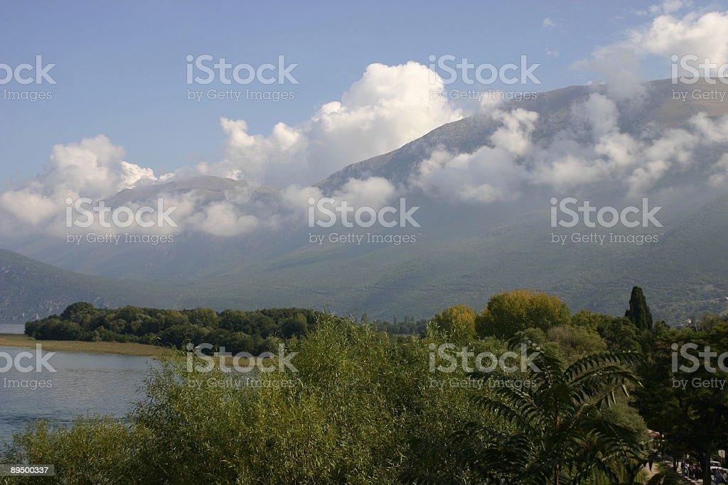 Ohrid photo libre de droits