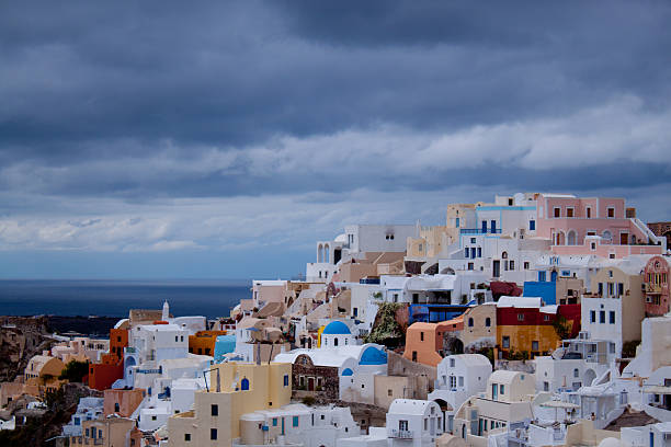 Oia Before the Storm
