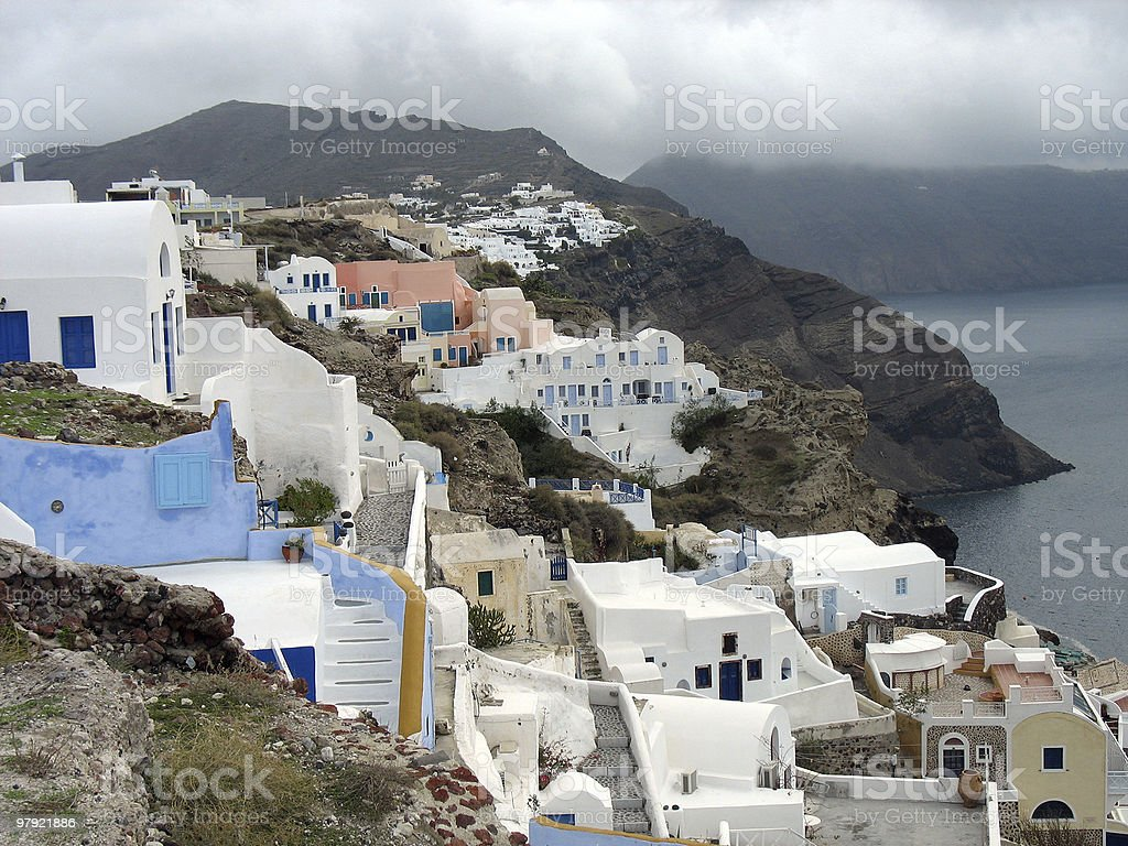 Oia royalty-free stock photo
