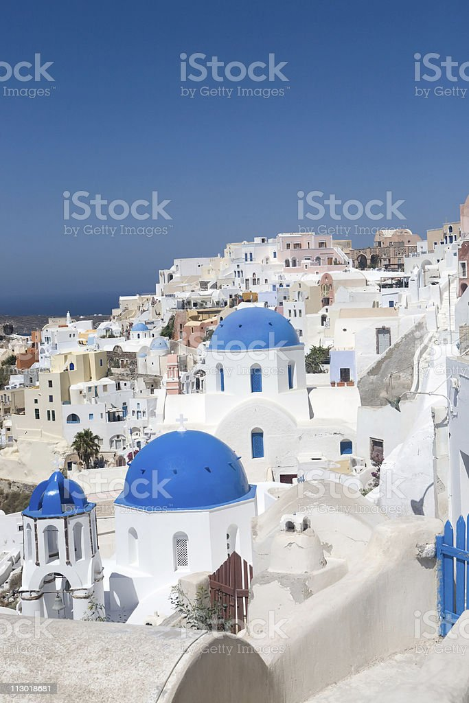 Oia, Santorini, Greece royalty-free stock photo