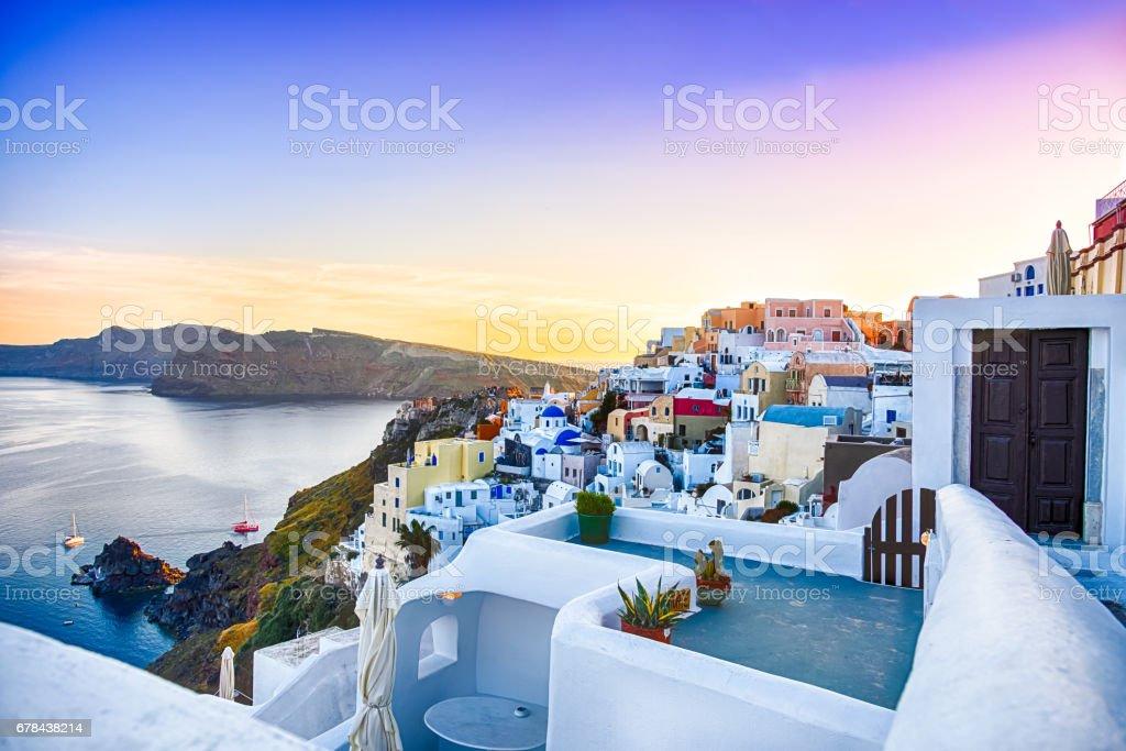 Oia, Santorini - Greece stock photo