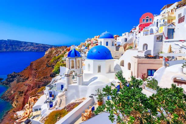 oia, santorini island, grekland, europa - santorini bildbanksfoton och bilder