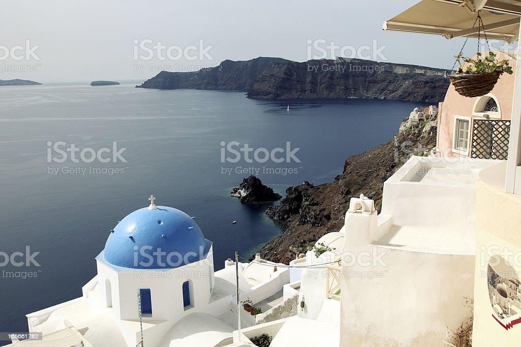 Oia Santorini royalty-free stock photo