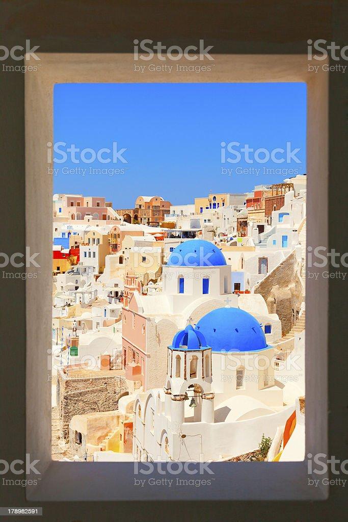 Oia, Santorini royalty-free stock photo