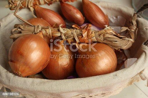 Oignon échalote tressés - Condiment aromate