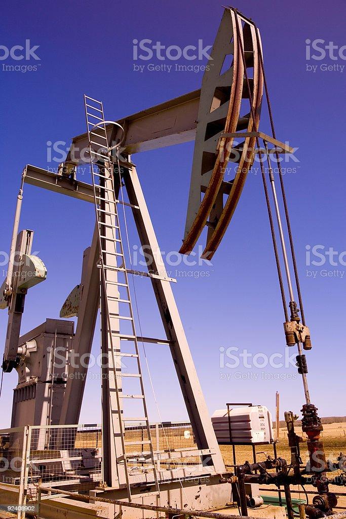 Oil 7 royalty-free stock photo