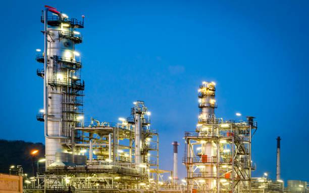 Öl- und Gasindustrie – Foto